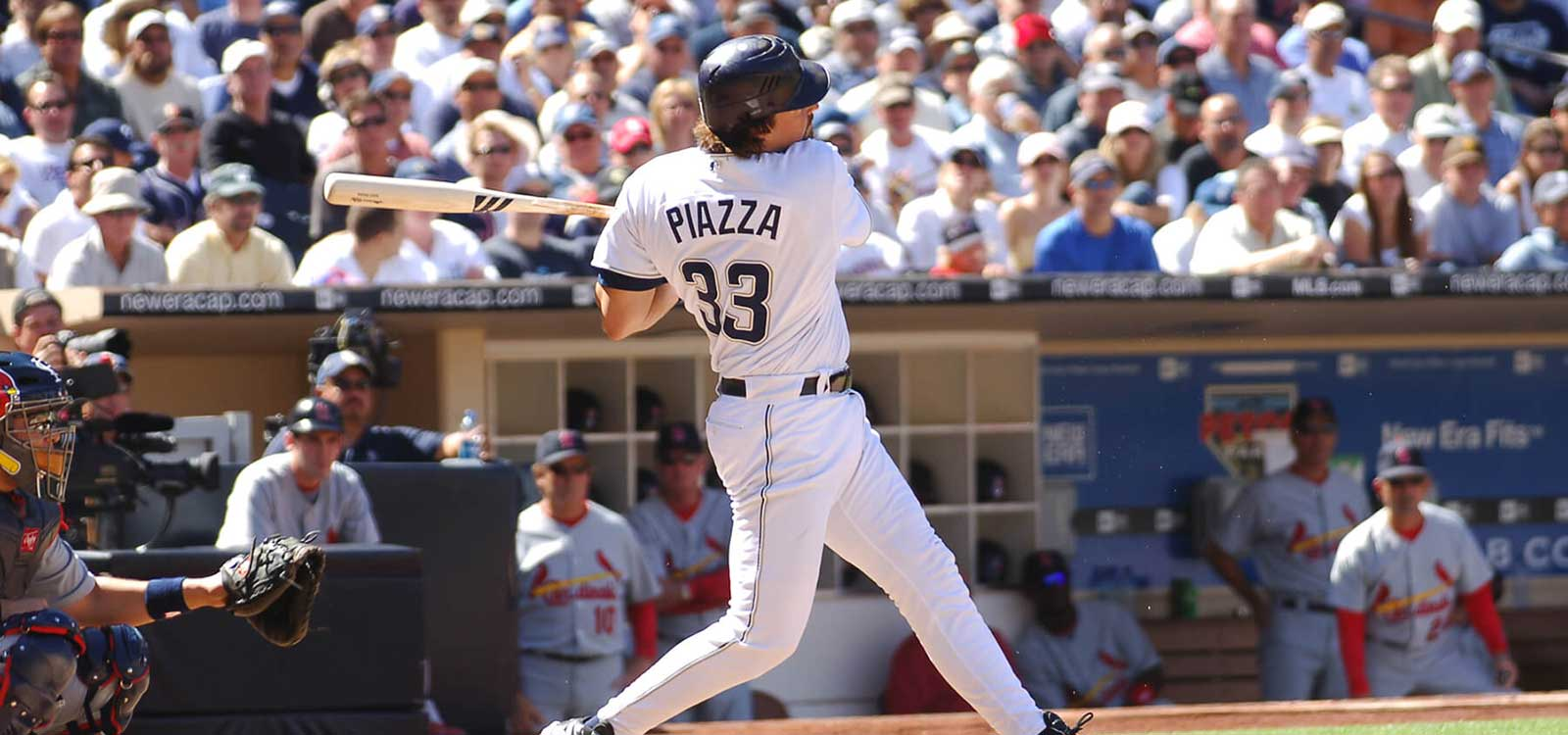 Action image of Mike Piazza